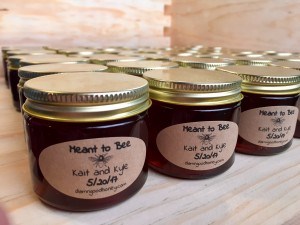 Custom Wedding Honey Gift